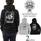 ドッグタウン X スーサイダルテンデンシーズ DOG TOWN ジップフードスウェット STプールスケーター ブラック (パーカー)