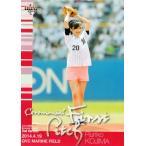 【FP04 小島瑠璃子 (タレント・グラビアアイドル)】2014BBMベースボールカード 2nd レギュラー [始球式カード]