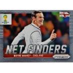 2014Panini Prizm FIFA World Cup Soccer インサート 【Net Finders】 9 Wayne Rooney ウェイン・ルーニー (イングランド)