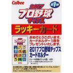 【ラッキーカード】カルビー 2017プロ野球チップス第1弾 [カードホルダーと交換ができます] ※有効期限:2017年10月18日