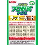 【ラッキーカード】カルビー 2020プロ野球チップス第2弾 [箔サインカード2枚と交換ができます] ※有効期限:2021年3月31日