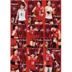 「【レギュラーコンプリートセット/全90種】全日本女子バレーオフィシャルカード2020 「火の鳥NIPPON」」の画像