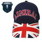 ADMIRAL GOLF(アドミラル ゴルフ) キャップ [メンズ] ADMB701F 【NVY(30) /Fサイズ】 ユニオンジャック CAP 帽子 EVEN掲載ブランド 小平智 堀琴音