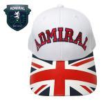 ADMIRAL GOLF(アドミラル ゴルフ) キャップ [メンズ] ADMB701F 【WHT(00) /Fサイズ】 ユニオンジャック CAP 帽子 EVEN掲載ブランド 小平智 堀琴音