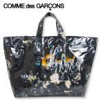 COMME des GARCONS SHIRT × FUTURA コム デ ギャルソン シャツ フューチュラ グラフィック プリント ラージ トート バッグ W28610 ブラック ギフト プレゼント
