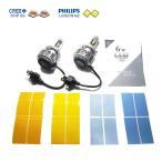 ショッピングLED LEDヘッドライト PHILIPS LUXEON MZ Chip+CREE XHP50 搭載 H4(Hi/Lo) canbus