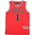 アディダス adidas NBA CHICAGO BULLS シカゴブルズ DERRICK ROSE デリックローズ ゲームシャツ レプリカユニフォーム メンズS 【中古】 【200419】 /eaa021310