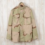 デッドストック 86年納品 米軍実品 M-65 デザートカモ ミリタリー フィールドジャケット SMALL REGULAR メンズM ヴィンテージ 141129R /ne7127