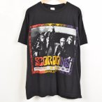 SCORPIONS スコーピオンズ WITH SPECIAL GUEST KING'S X TOUR'' バンドTシャツ メンズXL SUPER T 【中古】 【170526】 1994 /wab3705