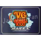 """パンフレット ★ V6 2000 「""""HAPPY"""" Coming Century, 20th Century forever」"""