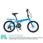 ショッピング自転車 4ING 折りたたみ自転車 品番 FL  20インチ DAYTONA (TURQUOISE×PURPLE) KEYWEST (ORANGE×GREEN) MIAMI (BLACK×PINK)