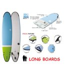 "NSP surfboards(エヌエスピーサーフボード) ロングボード 品番 SOFT SCHOOL LONG 11'0"" x 23 3/4 x 4 1/8"