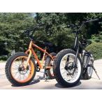 自転車 ビーチクルーザー GRQ ファットバイク 20