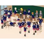 S03ミニスカスクールガールズ 1/144スケール女子高生フィギュア21体セット