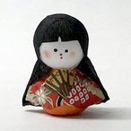 日本のおみやげ民芸玩具起き上がりこぼし人形 かぐや姫