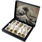 日本のアートスプーン 5本セット 浮世絵