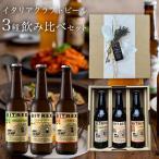 イタリア直輸入 クラフトビール 3種6本(330ml×6本) 飲み比べセット お試し詰め合わせ 送料無料