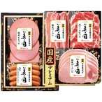 お中元 御中元 ハム ギフト 肉加工品 セット 詰め合わせ 国産プレミアム 美ノ国 UKI-30 メーカー直送 送料無料