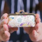 受注生産|姫革細工 白なめし革 白レザー 印鑑入れ口金(印鑑ケース) 10カラー 姫路 伝統工芸品