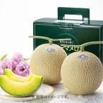 お歳暮 送料無料 メーカー直送 フルーツ 果物 詰め合わせ ギフト メロン 静岡県 温室メロン 2玉 (1.3kg×2)