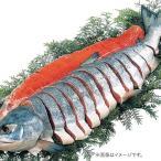 お歳暮 御歳暮 お取り寄せグルメ お取り寄せ 海鮮 魚介類 水産加工品 鮭 サケ 切り身 北海道 雄武産 天然 新巻鮭 姿造り 切り身  お返し 食品