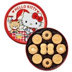内祝い 内祝 お返し キティちゃんお菓子 スイーツ ギフト かわいい 洋菓子セット バタークッキー缶 ハローキティ 32795 (8)