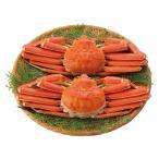内祝い 内祝 お返し メーカー直送 送料無料 ズワイガニ かに カニ 魚介類 水産加工品 ボイル ずわいがに 姿 2尾 20n-06 (1)