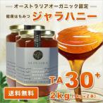 大還元祭30%OFF  ジャラハニー TA 30+ 1,000g×2本セット 2kg マヌカハニーと同様の健康活性力 オーガニック認定 はちみつ 蜂蜜 送料無料