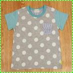 キッズズー Kid's zoo 水玉半袖Tシャツ 80-95 【セール品】《30%OFF》
