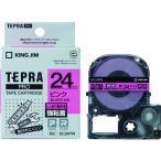 キングジム テプラPROテープ強粘着タイプピン/黒字 SC24PW