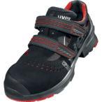 UVEX サンダル ブラック/レッド 27.5CM 8536.5-43