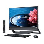 新品同様 NEC LAVIE Desk All-in-one DA770/EAB PC-DA770EAB [ファインブラック](MS Office Business Premium 付き)