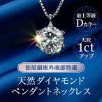 松屋銀座特選Dカラーダイヤモンドネックレス1ct ※3〜4週間で発送いたします