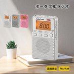 OHM ポケットラジオ RAD-P2229S-S