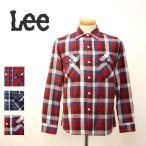Lee リー/チェック ワーク シャツ フラップポケット ネルシャツ L/S 長袖シャツ REGULAR FIT トップス メンズ/LT0596