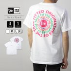 ネコポス対応 ニューエラ Tシャツ メンズ NEW ERA Tシャツ 半袖 Originators of the True Fitted コットン Tシャツ パフォーマンス Tシャツ 12325157