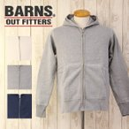 BARNS バーンズ/無地 ヴィンテージ ジップ アップ パーカ スウェット ユニオン スペシャル メンズ BARNS OUTFITTERS/BR-3010