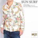 サンサーフ SUN SURF 長袖シャツ ALOHA QUEEN コーデュロイ 長袖オープンシャツ アロハシャツ ハワイアンシャツ SS27406-105