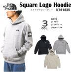 THE NORTH FACE ザ ノースフェイス プルオーバー パーカー メンズ スクエア ロゴ フーディー Square Logo Hoodie トップス NT61835