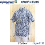 レインスプーナーReyn spoonerアロハ、半袖シャツ DANCING BISCUS Pullover