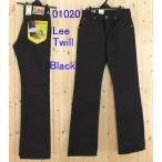 Lee,/リーのブーツカット ツイル ブラックブーツカット ジーンズ 102 アメリカンスダンダードの01020 Bootcut