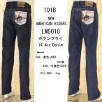 ショッピングused Lee(リー)の101Bのストレートジーンズ LM5010-526/446 USED ボタンフライのアメリカンライダース