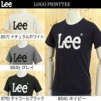 LeeのプリントロゴTシャツ LS1017