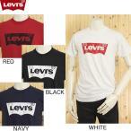 リーバイス ブランド ロゴプリント Tシャツ、 BATWING Tシャツ  バッドウィングTee、USライン  3LMST302CC  ヴィンテージ風擦切れ加工プリント仕様!