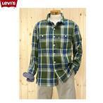 リーバイス(LEVI'S)ワークシャツ 38)ライフルグリー