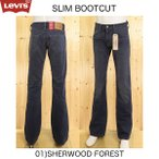 リーバイス 05527-05 Slim Bootcut 527 01)SHERWOOD FOREST