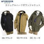 マクレガー、メンズ、111136805 カジュアル ダウンパーカー ハーフジャケット コートジャケット