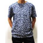 エビスジーンズ 送料無料 日本製 東京メイド ETC5901TS カモメモノグラム柄 鹿の子ジャガード織り 半袖Tシャツ ヘビーウエイト 限定生産