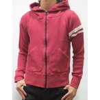 MOMOTARO JEANS(桃太郎ジーンズ) ST231 出陣 ZIP UP THERMAL PARKA(RED)   サムライジーンズ