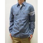 桃太郎ジーンズ MOMOTARO JEANS 桃太郎JEANS 出陣 シャンブレー ワークシャツ 日本製 インディゴ SJ091